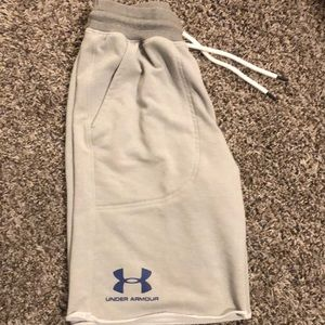 Under armour terry shorts